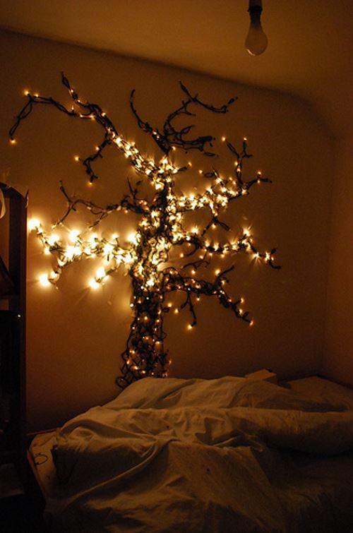 tree bedroom